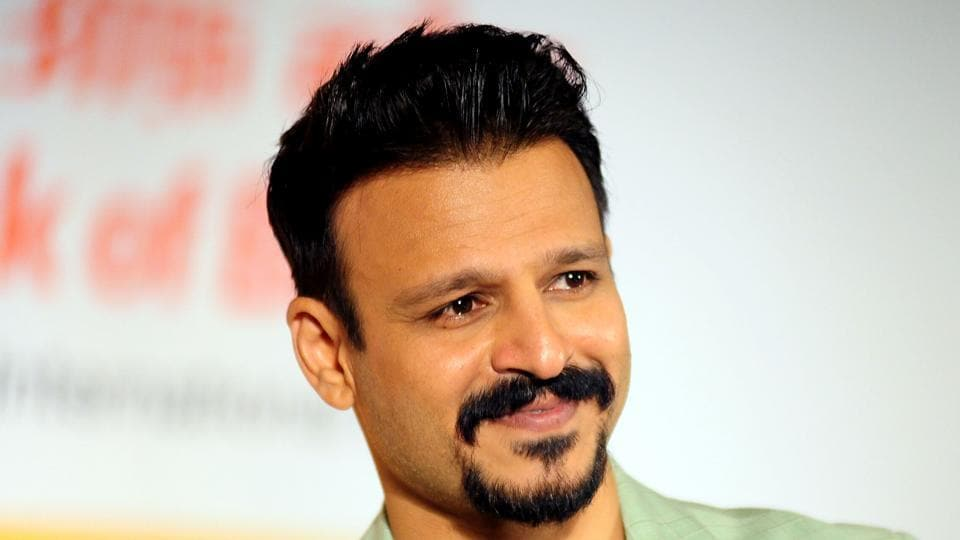 Vivek Oberoi looks on during a promotional event in Mumbai on May 30, 2017.