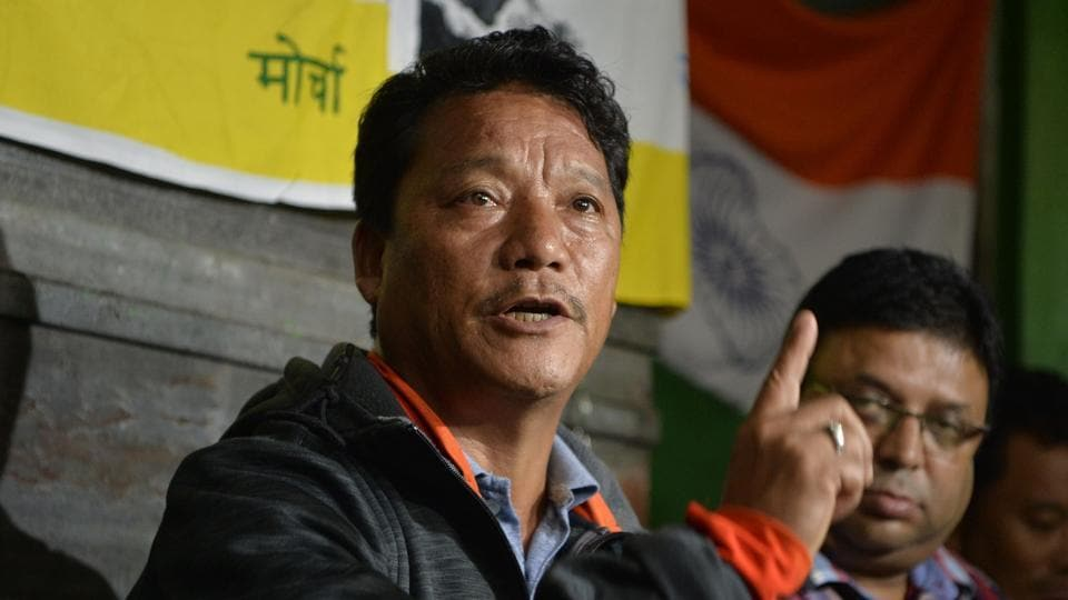 Police are searching for Bimal Gurung over his involvement in many cases.