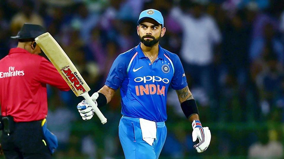 Virat Kohli scored an unbeaten century as India won the final ODI by 6 wickets, completing a series whitewash over Sri Lanka in their home for the first time.  (PTI)