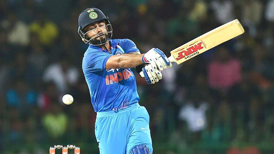 Virat Kohli in action against Sri Lanka during the fifth ODI match in Colombo. Catch full cricket score of India vs Sri Lanka, 5th ODI, Colombo here.