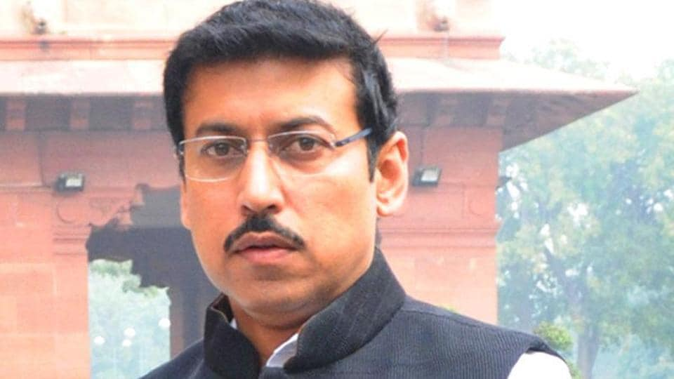 Rajyavardhan Singh Rathore, who secured the silver medal in the  men's double trap at the 2004 Athens Olympic Games, has been appointed the new sports minister.