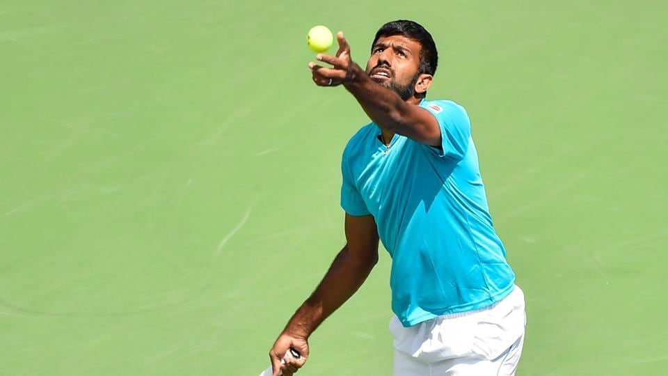 Indian tennis player Rohan Bopanna won his mixed doubles opener with Gabriela Dabrowski at the USOpen on Saturday.