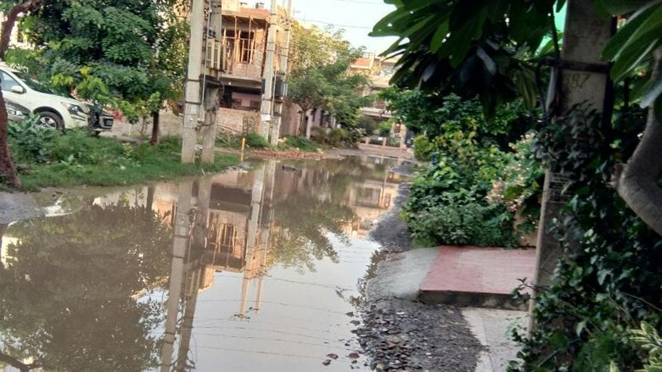 Residents claim that repeated efforts to raise the issue with the Municipal Corporation of Gurugram (MCG) have fetched no result.