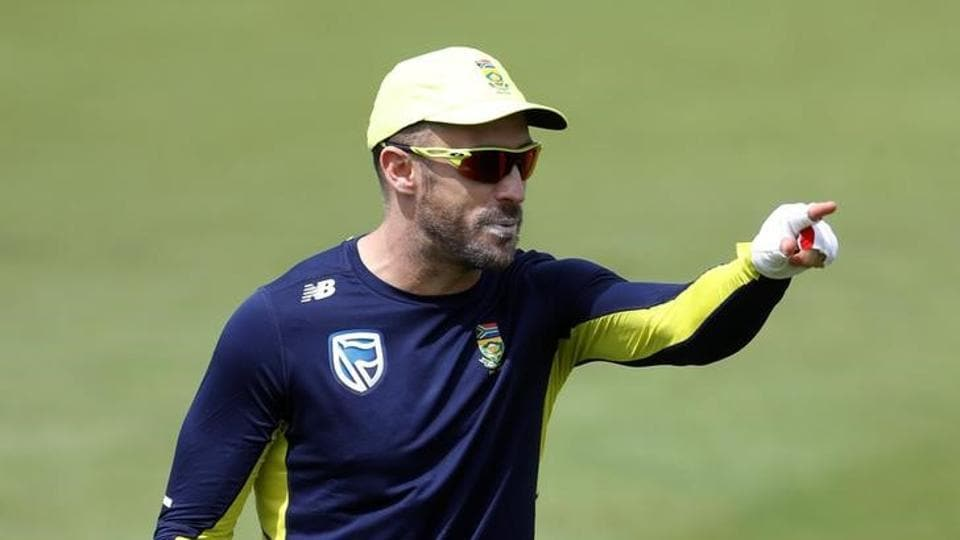 Faf du Plessis is the captain of the South Africa cricket team.
