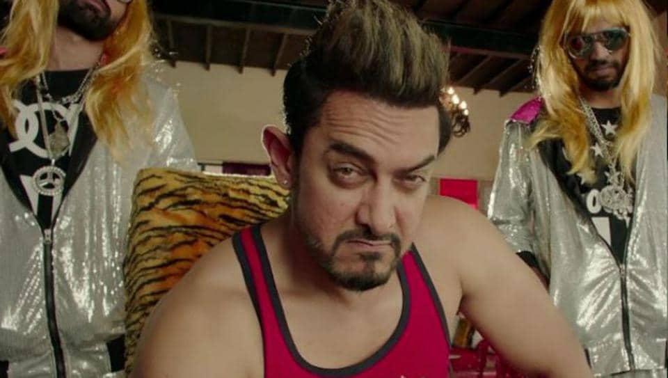 Aamir Khan plays the mentor to Zaira Wasim's lead character in Secret Superstar.