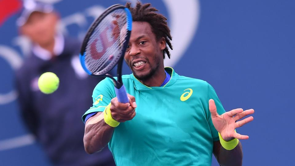 France's Gael Monfils crashed out of US Open after his loss against Belgium's David Goffin. (AFP)
