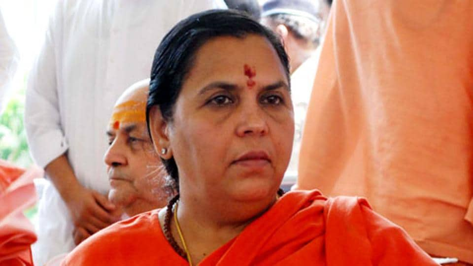 Uma Bharti,Cabinet axing,RSS