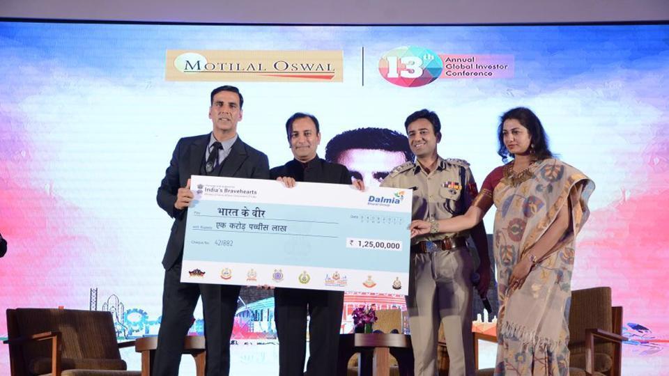 Akshay Kumar,fundraising,Bharat Ke Veer