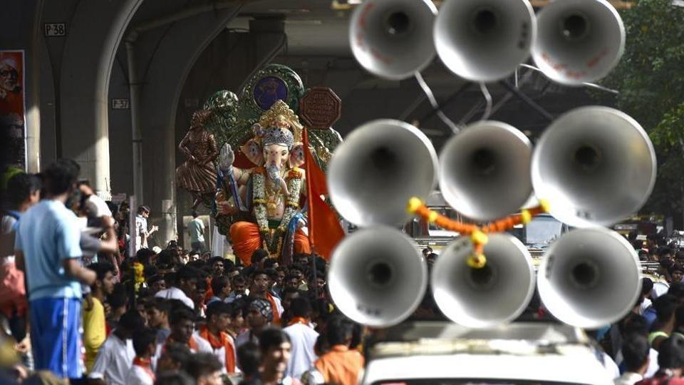Ganeshotsav,Brihanmumbai Sarvajanik Ganeshotsav Samanvay Samiti,Mumbai noise levels