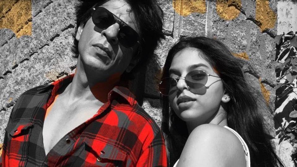 Shah Rukh Khan,Suhana Khan,Karan Johar