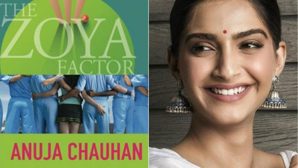 Sonam Kapoor  will be featuring in a screen adaptation of Anuja Chauhan's 2008 novel The Zoya Factor.