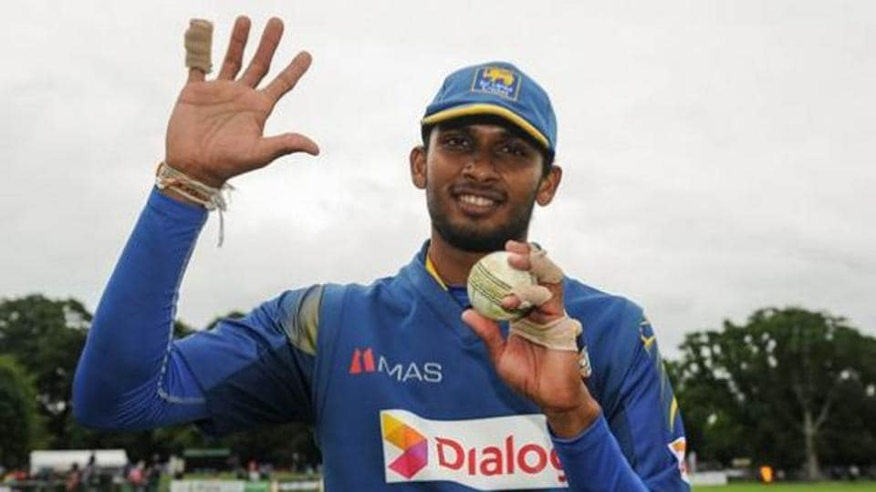 Dasun Shanaka has played 12 T20Is for Sri Lanka so far.