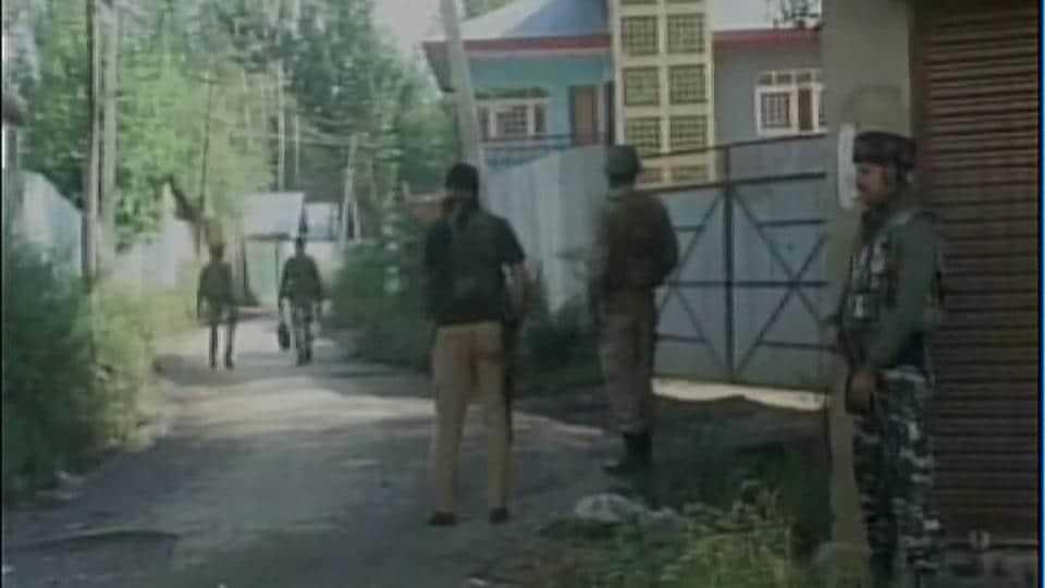 Two militants were killed in an encounter with security forces in Sopore.