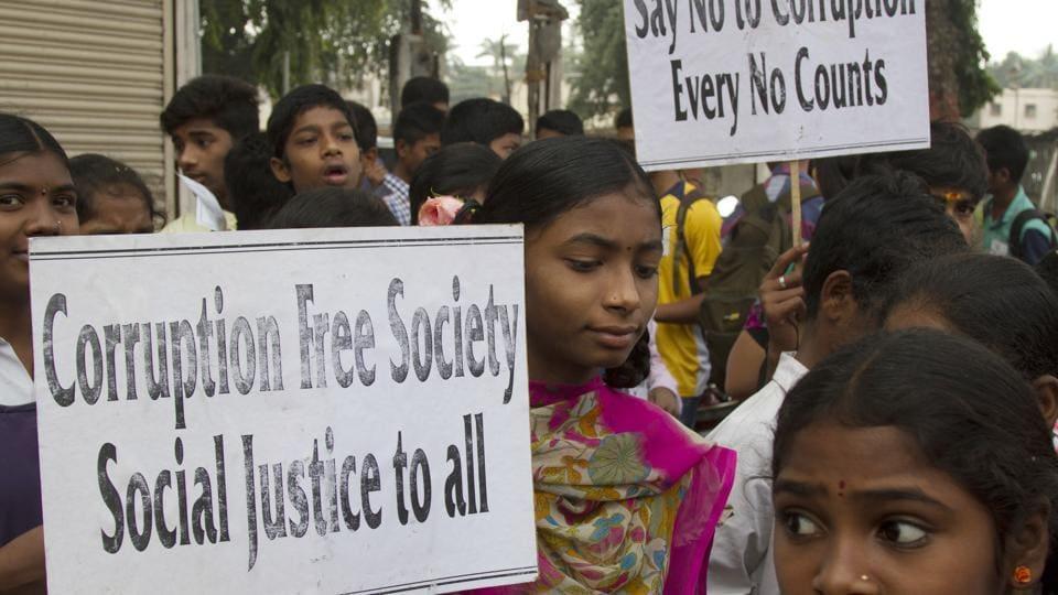 Telangana,Self immolation,Bribe