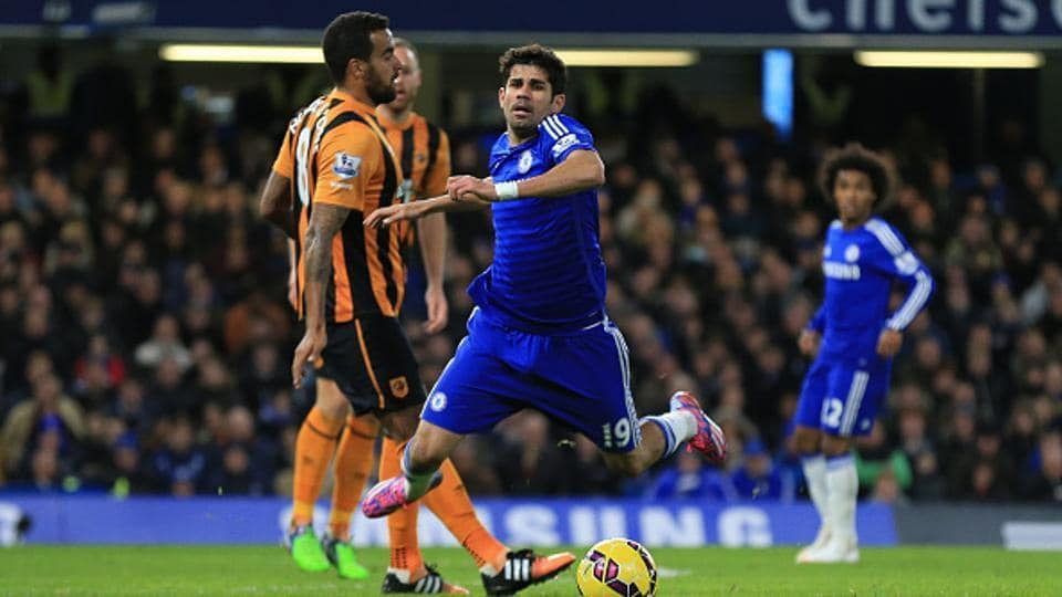 Diego Costa has not played in any of their Premier League games to date in this season.