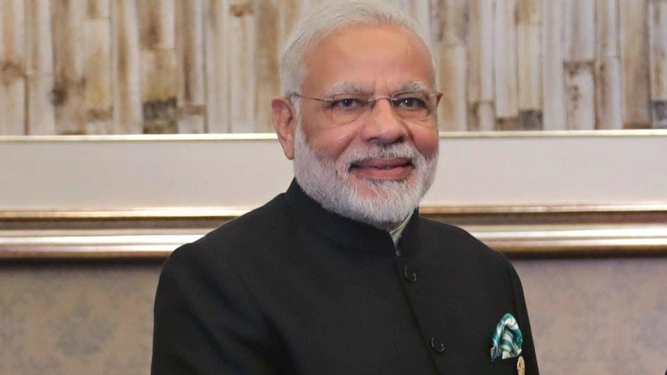 Prime Minister Narendra Modi at the BRICS Summit in Xiamen on September 4, 2017.