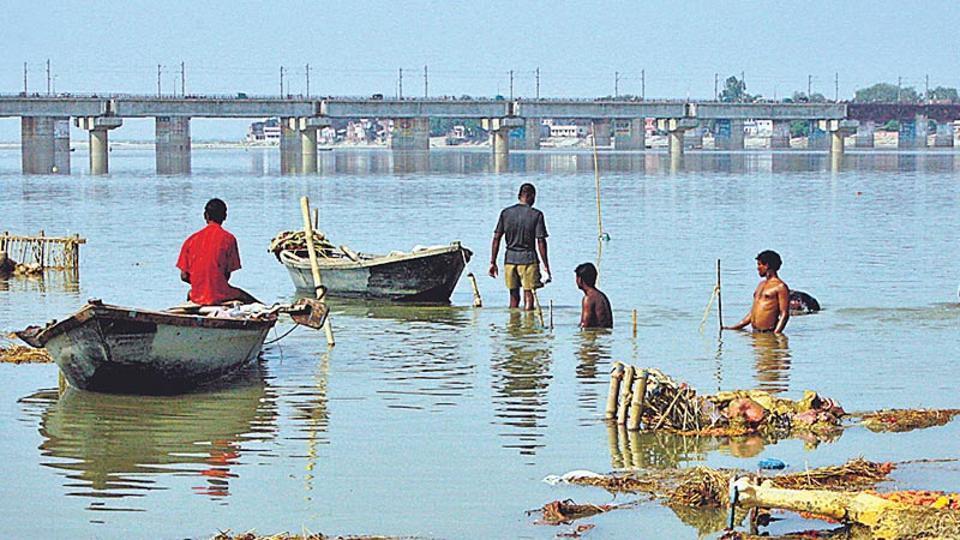 how to clean ganga river