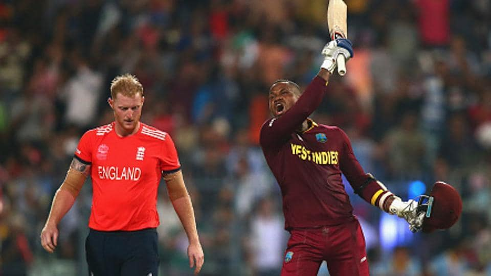 Marlon Samuels (R) and Ben Stokes had clashed during the ICC World T20 final in Kolkata in 2016.