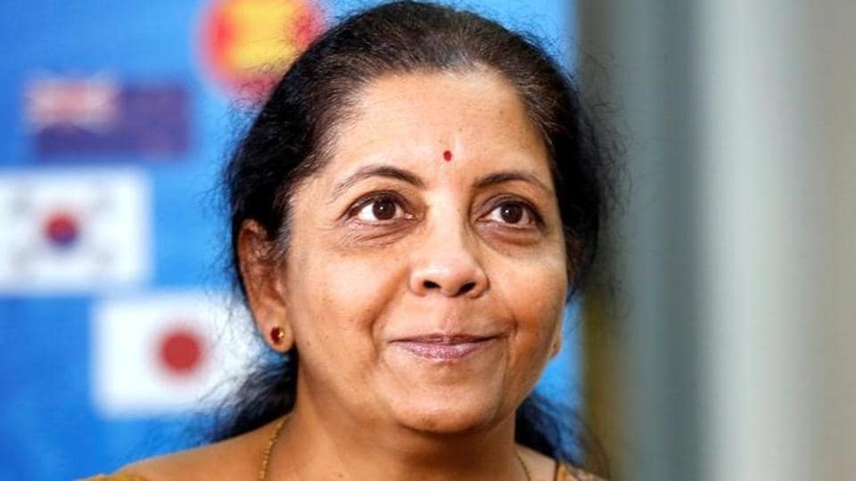 Union minister Nirmala Sitharaman.