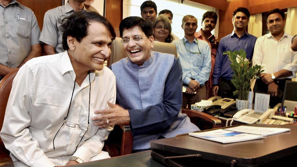 New ministers,Piyush Goyal,hardeep Puri