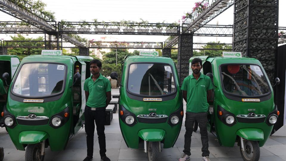 In collaboration with Delhi Metro Rail Corporation (DMRC), 300 'Smart E' rickshaws were added to the Gurgaon roads, with 700 more vehicles to be incorporated in the coming months.