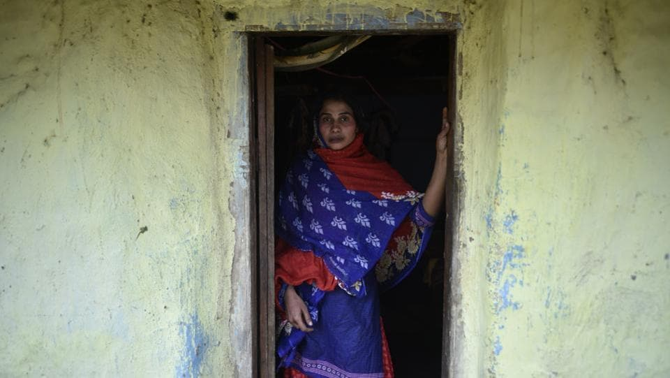 'I cannot restart a life in my village because I am on the radar of Maoists. And the government that recruited me as an SPO now finds me useless,' recalls Anita who works as a domestic help in a colony 20km from her native village. She added, 'I thought I had joined Chhattisgarh police. I didn't know I would be mortgaging my life.' (Ravi Choudhary/HT PHOTO)