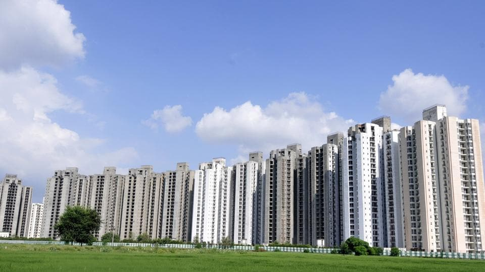 Construction was stopped at Jaypee Aman, at Sector-151 in Noida.