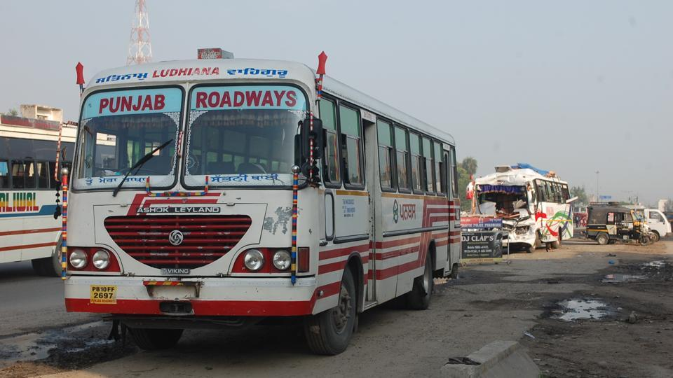 bus accident,Phagwara,mishap