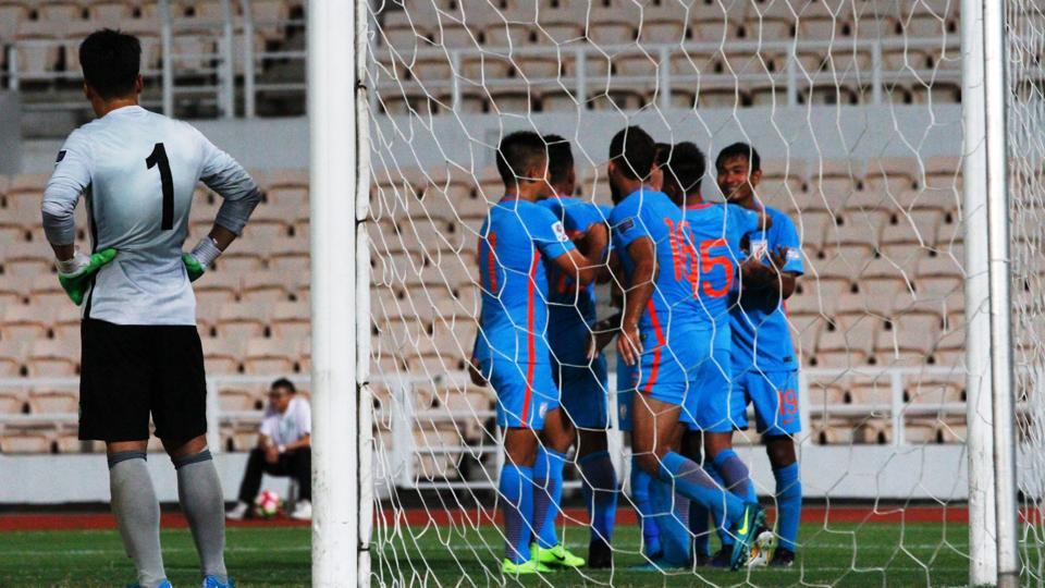 Balwant Singh's brace saw India clinch a 2-0 win over Macau in their 2019 AFC Asian Cup qualifier on Tuesday.