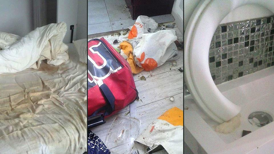 canadian tenant trashes airbnb paris home leaves it covered in excrement urine travel. Black Bedroom Furniture Sets. Home Design Ideas