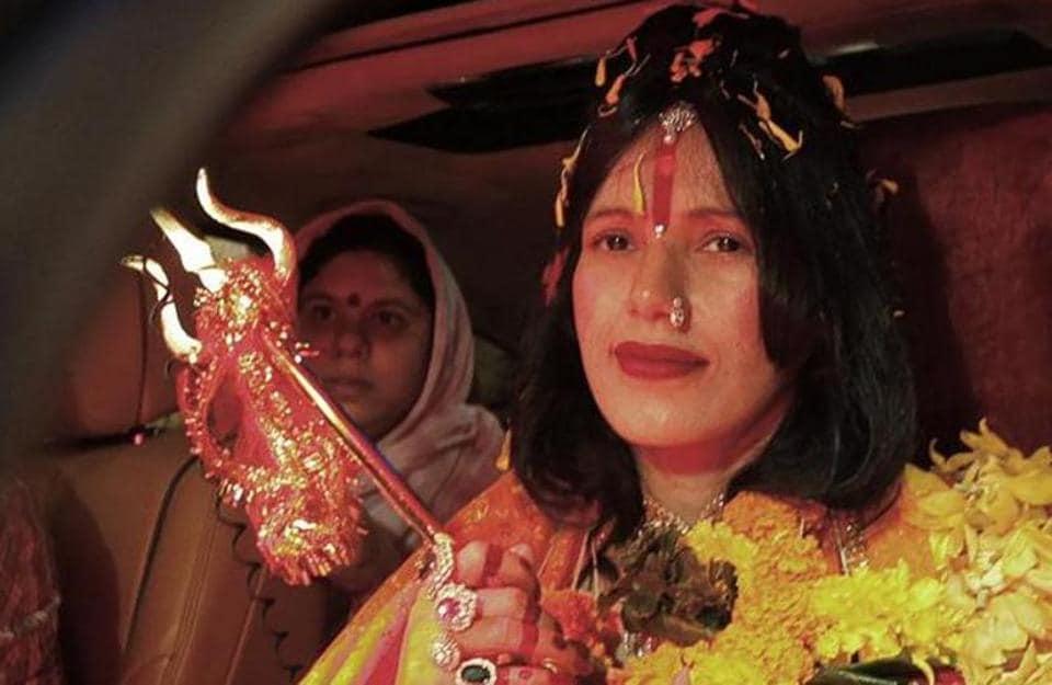 "Self-styled ""godwoman"" Sukhwinder Kaur alias Radhe Maa"