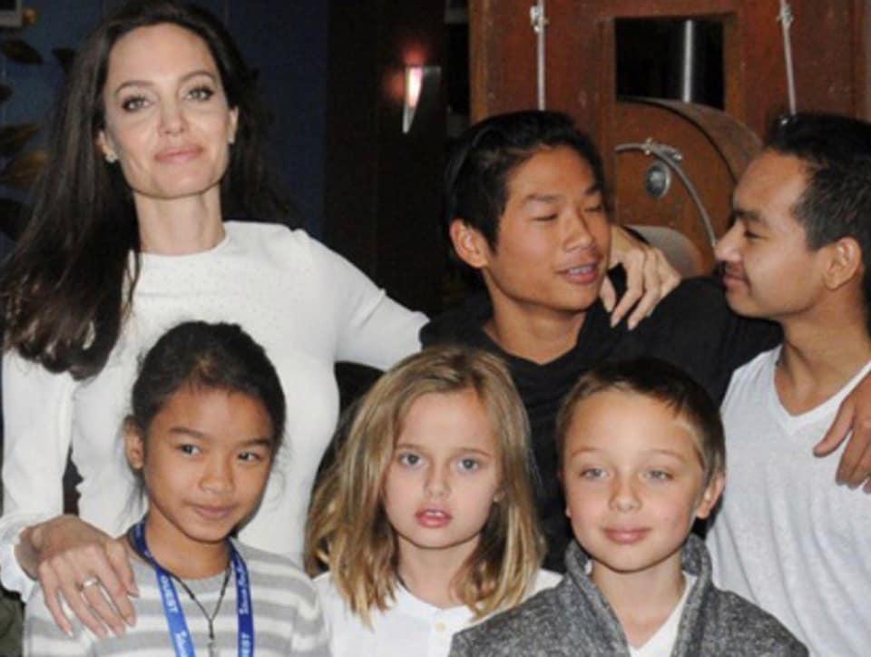 Angelina Jolie,Angelina Jolie Kids,First They Killed My Father