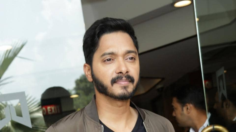 Shreyas Talpade during a press conference to promote Poster Boys on September 5.