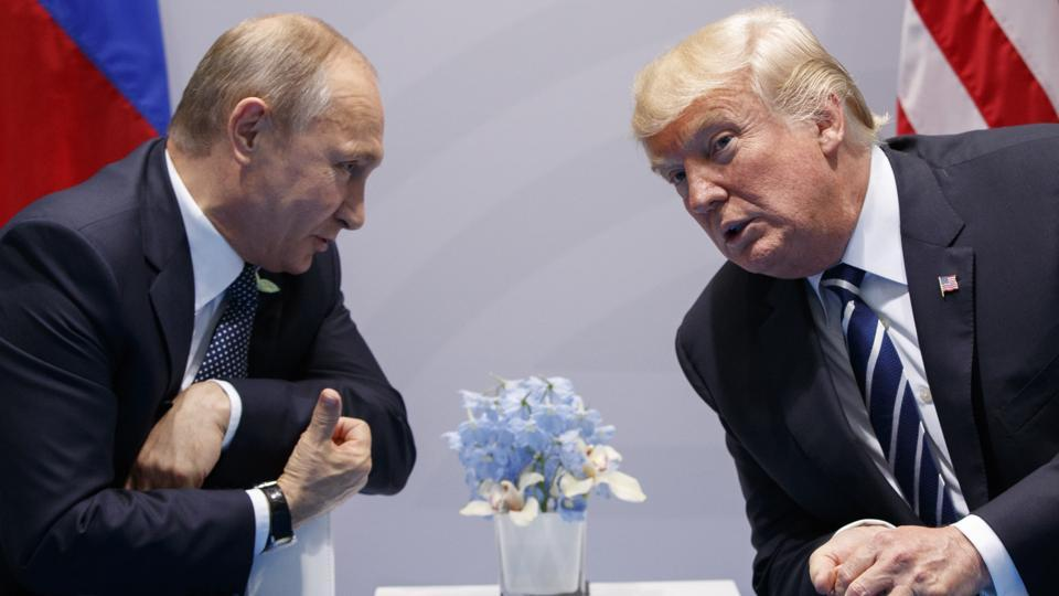 Image result for Donald Trump 'not my bride, and I'm not his groom': Vladimir Putin
