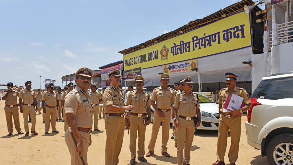 Ganpati Visarjan: 40000 policemen, 5000 CCTV cameras and drones to monitor Mumbai