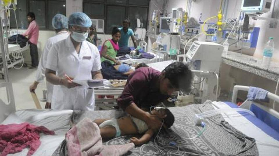 Children Death,Gorakhpur,BRD hospital