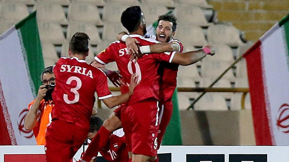 2018 FIFA World Cup,2018 FIFA World Cup qualification,Syria national football team