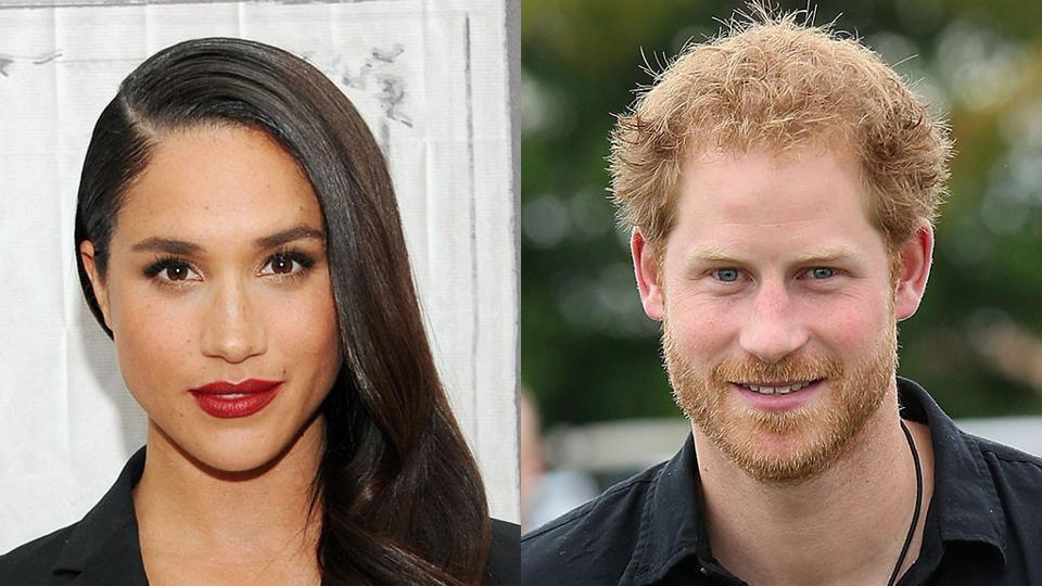 Meghan Markle says she met Prince Harry in London through friends in July 2016.