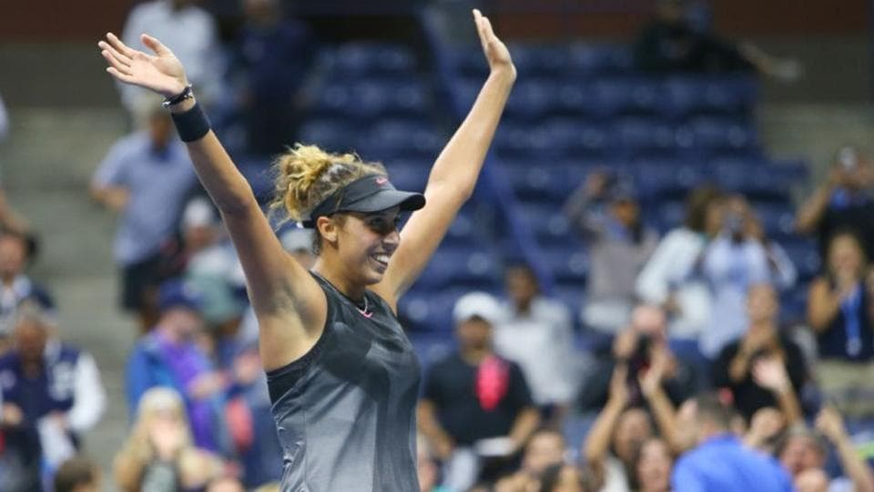 Madison Keys of the United States had to fight it out against Elina Svitolina of Ukraine on Day 8 of the US Open. (USA TODAY Sports)