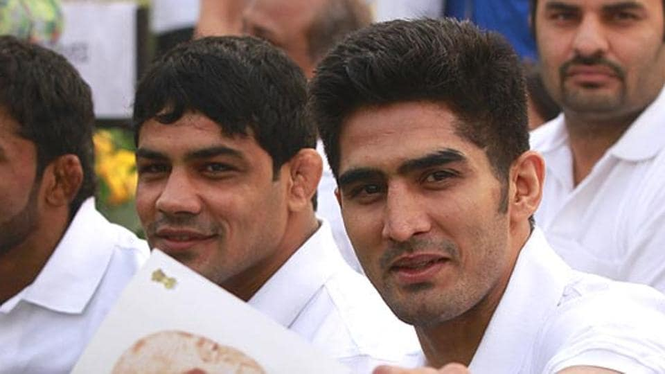 Teacher's Day,Vijender Singh, Sushil Kumar