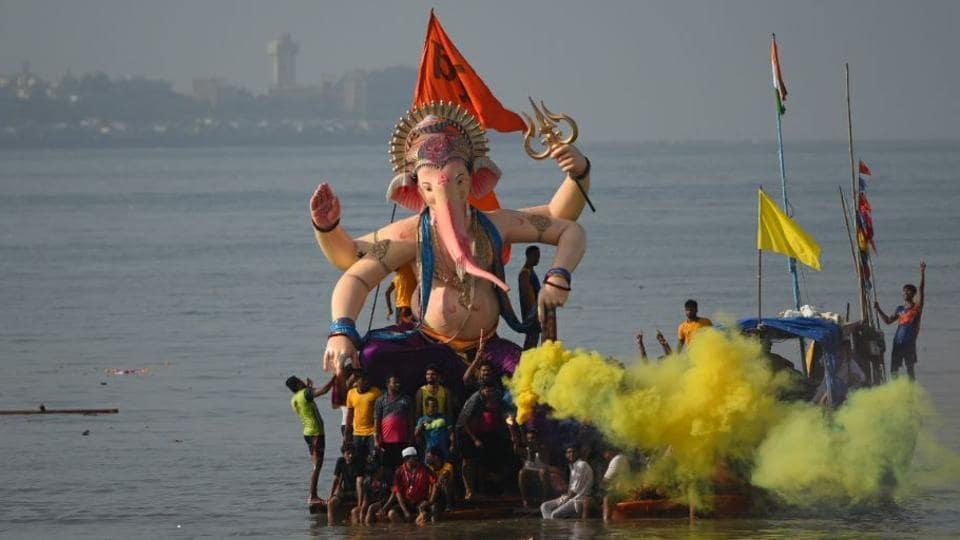 Mumbai,Ganpati immersions,Ganesh Chaturthi