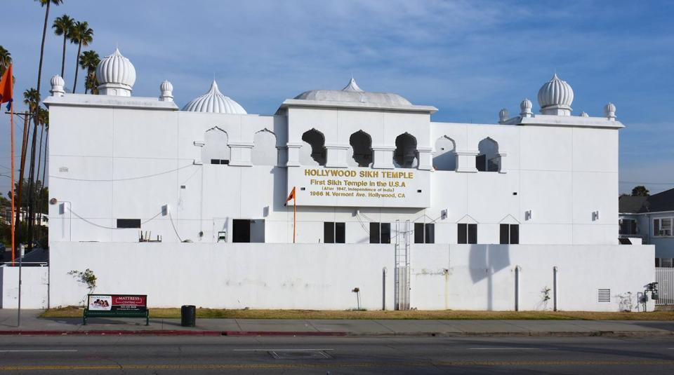 The Hollywood Sikh Temple in Los Angeles. (Photo: Facebook)
