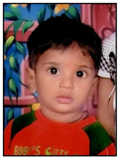 At 15-months, Somnath Shah became the youngest organ donor from western India.