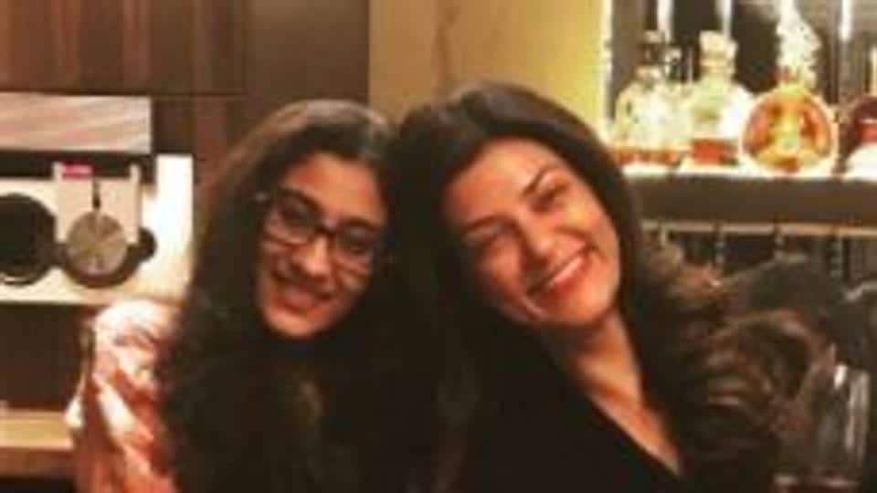 Sushmita Sen,Sushmita Sen daughter,Sushmita Sen daughter pic