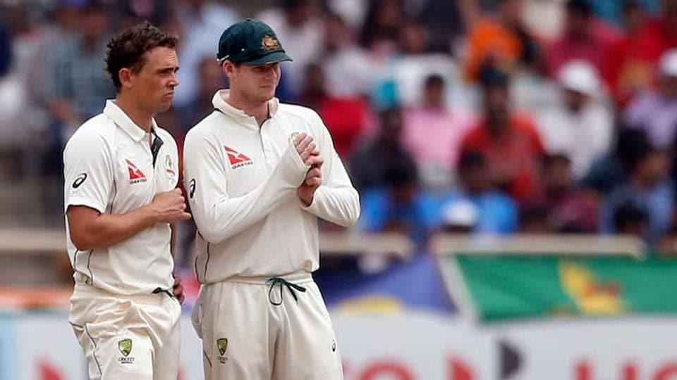 Steve O'Keefe was included in the Australian side for the second Test against Bangladesh in place of the injured Josh Hazlewood.