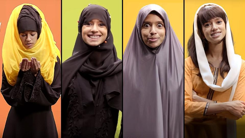 Tamil singer and rapper Sofia Ashraf is back with a hilarious portrayal of the different ways Muslim women carry hijab, the traditional head scarf.
