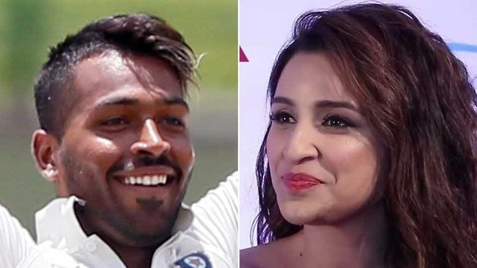 Hardik Pandya has been advised by fans to stick to cricket and not Parineeti Chopra.