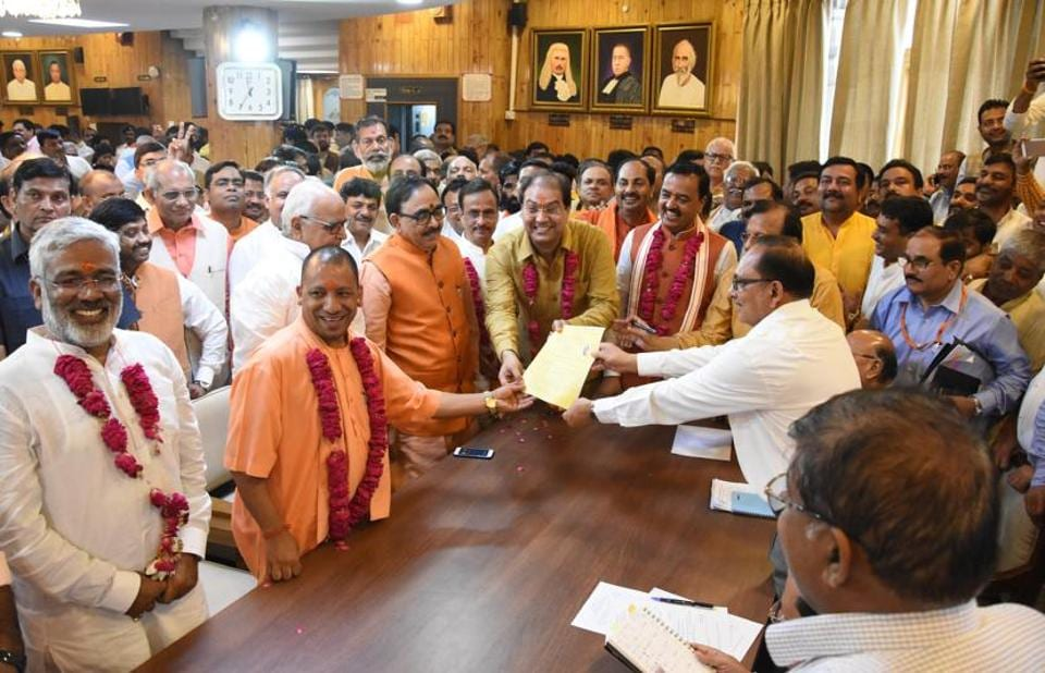 No candidate from the opposition filed nomination paper for four Vidhan Parishad seats.