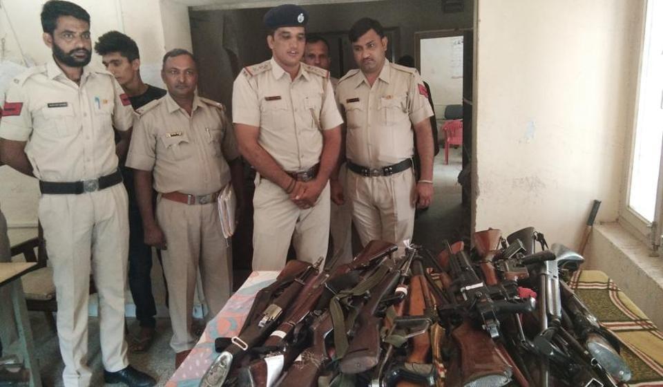 Dera Sacha Sauda,Ram Rahim,M1 Carbine