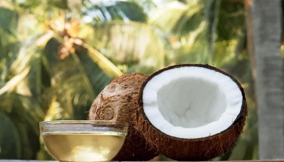 Coconut oil is suitable for all skin types and good for dry skin, dry patches and wounds.